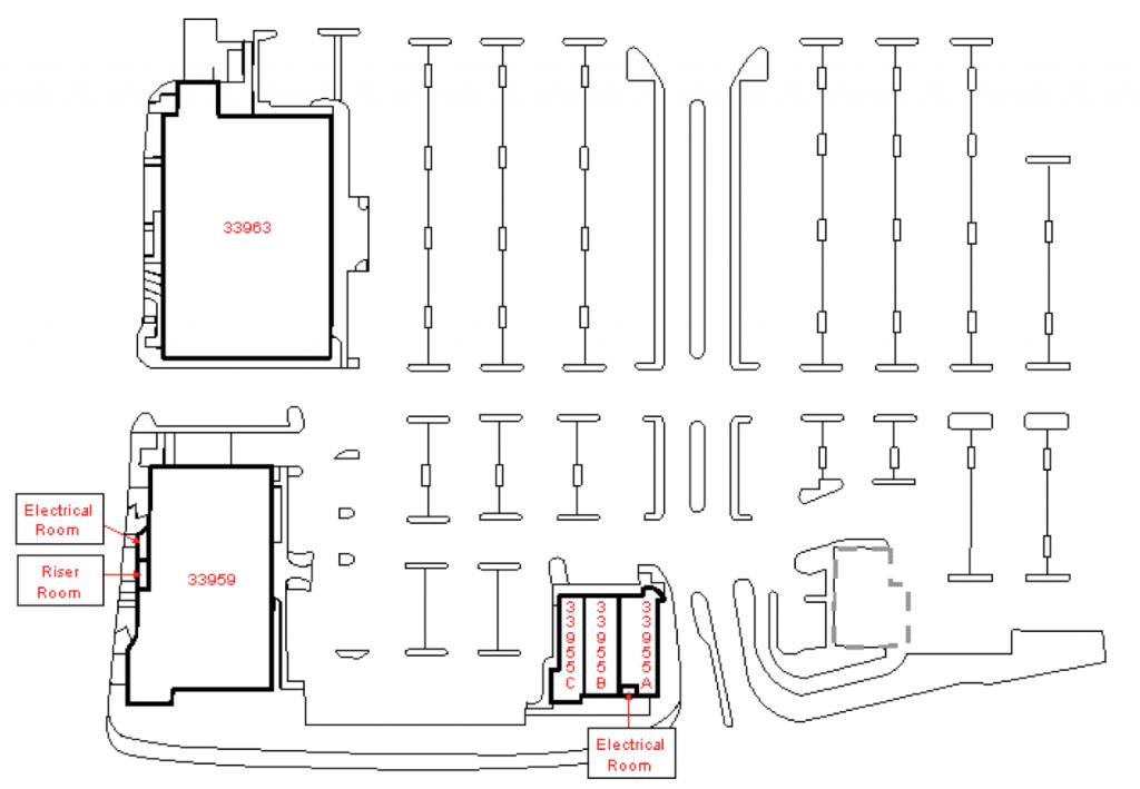Costco Center Site Map
