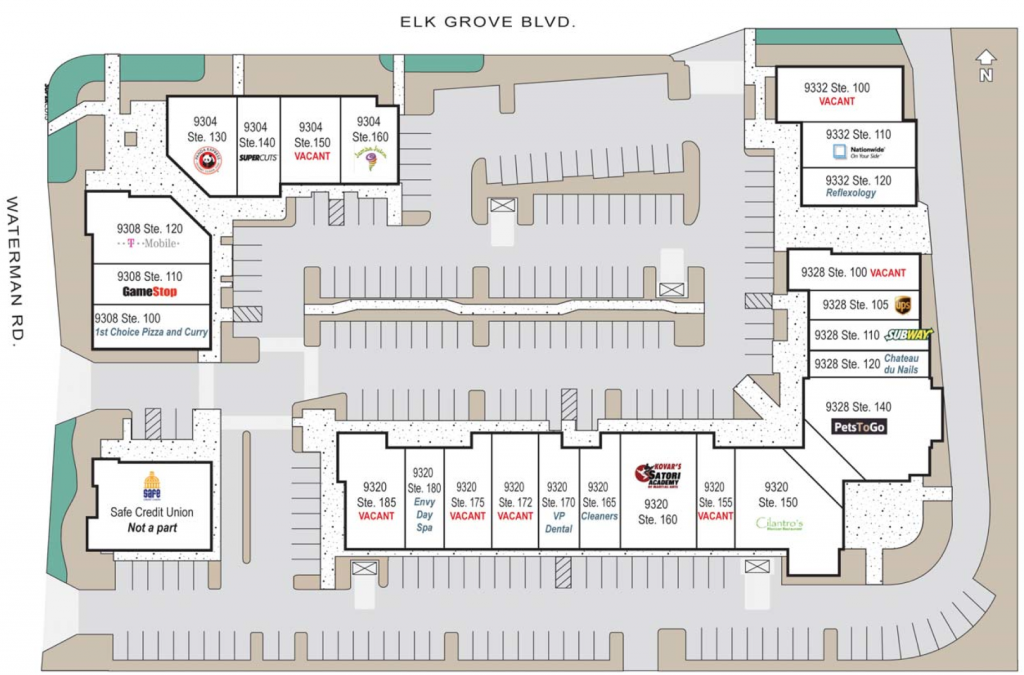 Waterman Grove Site Map